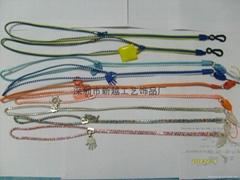 Zipper rope mobile phone lanyard
