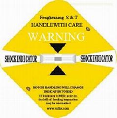 shock watch label shockindicator patent products