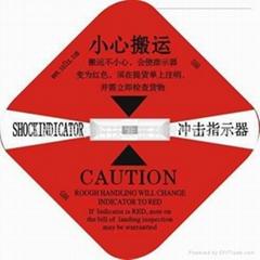 专业生产供应冲击指示器/SHOCKWATCH