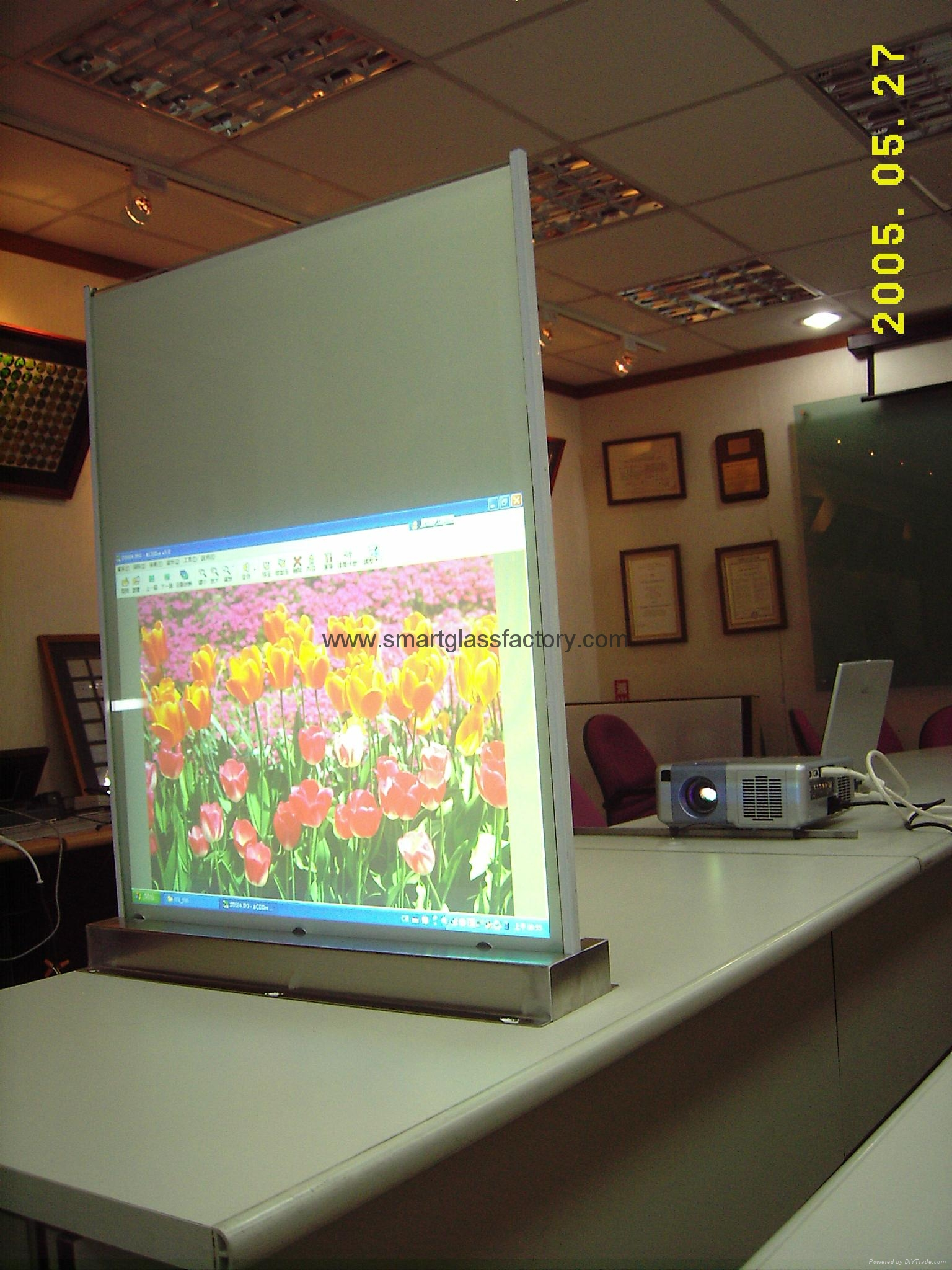 Switchable Glass with 48VAC (Remote/Dimmer) 5