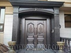 別墅進戶純銅門