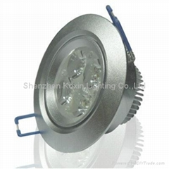 4*1W led ceiling down lamp(Triad of a lens)