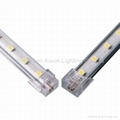 SMD5050 48leds/M  aluminum led strip light