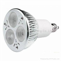 High Power led spotlight GU10 CREE 3X2W  Ceiling downlight lamp