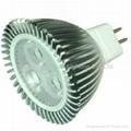 High power led spotlight MR16 CREE 3X2W ceiling downlight led bulb lamp