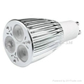 LED light bulbs GU10 E27 CREE3X3W led