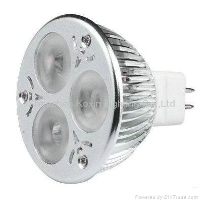 调光MR163X2led射灯 1