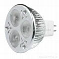 Dimmable LED spot light MR16 3*2W
