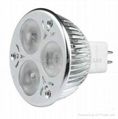 调光MR163X2led射灯