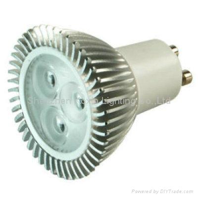 3x1W可控硅调光射灯 1