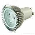 3x1W可控硅调光射灯