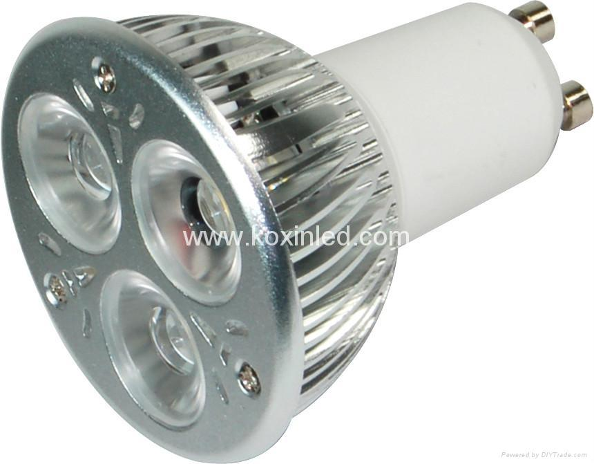 3x1W可控硅調光射燈 3