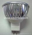 3x1W可控硅調光射燈 4