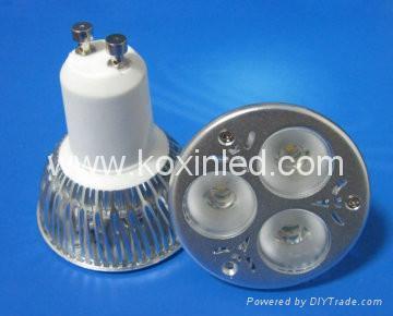 3x1W可控硅調光射燈 5