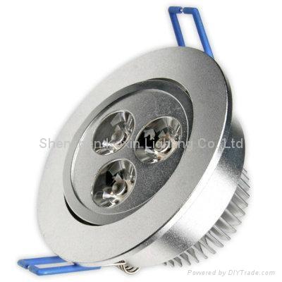 3W 筒燈 1