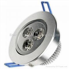3W 筒燈