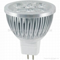 High power led spot lamp MR16 4X1W