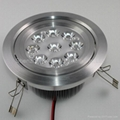 the popular 9w led downlight(Triad of a