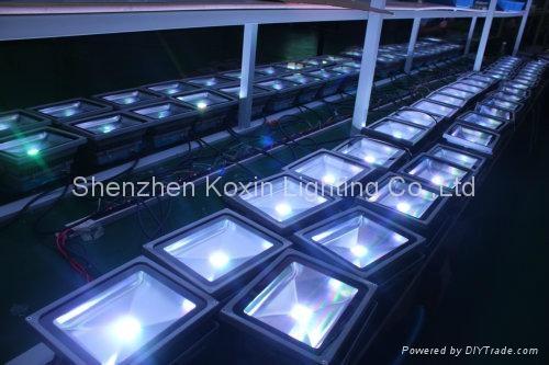 50W 55° LED Flood Light LED Projector Spotlight outdoor IP65 4