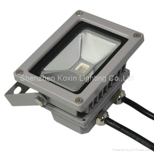 10W RGB led projector with external controller 1