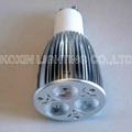 Dimmable led bulb lamp GU10 3*3W 2