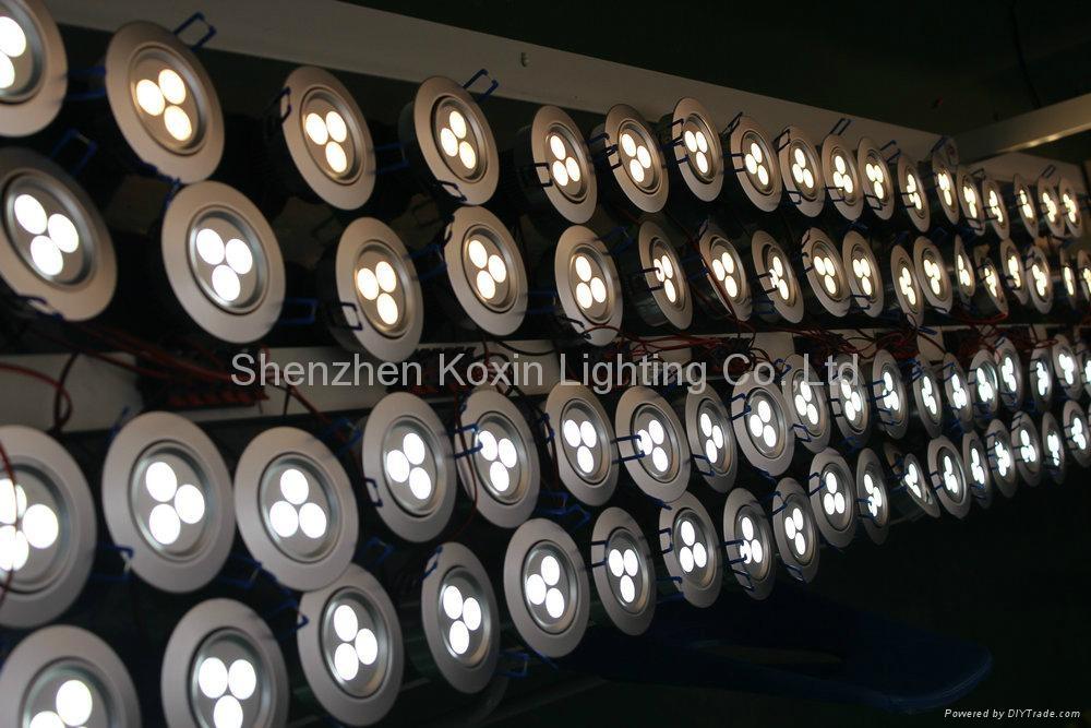 3W 筒燈 3