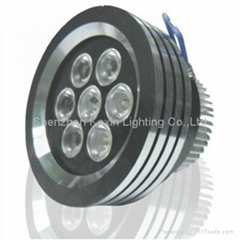 High power 7W led downlight(CE/ROHS approval)