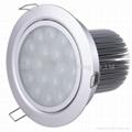 12W筒燈