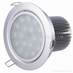 12*1W led downlight dimmable(Antifog Function)