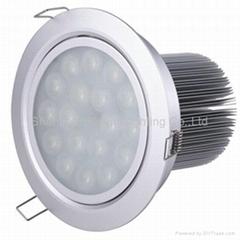 12*1W led downlight dimm