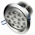 High power 15w led downlight(CE/ROHS approval+2 years warranty)