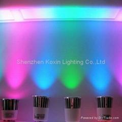 5W RGB 大功率LED 射灯
