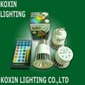 5W RGB 大功率LED 射燈 2