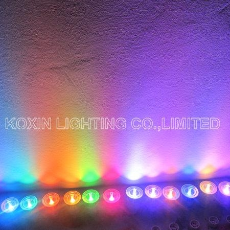 5W RGB led spotlight with IR remote controller 5