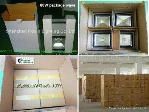 10W PIR high power Cree LED floodlight wall light spotlight projetor downlight  5