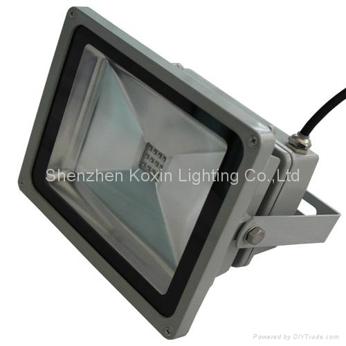 20W single colour led projector light white led floodlights 3