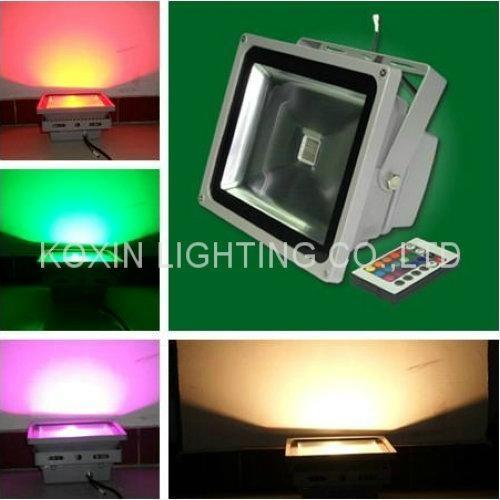 60w rgb led floodlight led bulb led spotlight flood lights led projector light