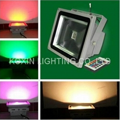 60w rgb led floodlight led bulb led spotlight flood lights led projector light