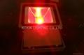 81W RGB high power led floodlight with IR remote 2