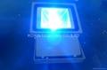 81W RGB high power led floodlight with IR remote 3