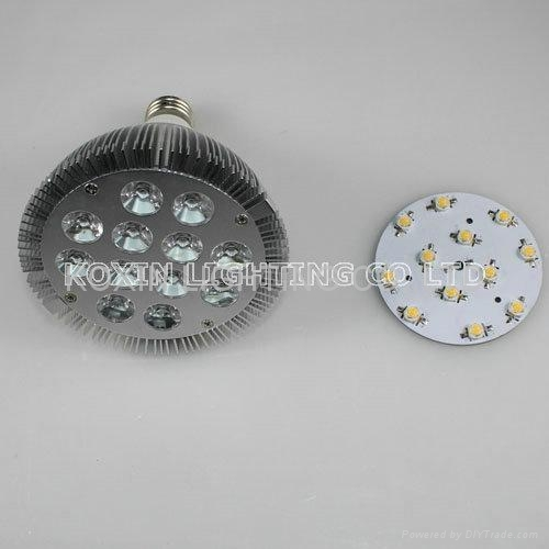 High power color changing 12W RGB led par light(with remote controller) 5