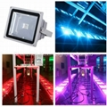 DMX Controlled 30W RGB LED Floodlight Outdoor IP65
