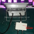 DMX Controlled 30W RGB LED Floodlight Outdoor IP65 5