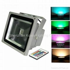 54W RGB LED Floodlight( CE/RoHS+Waterproof IP65)