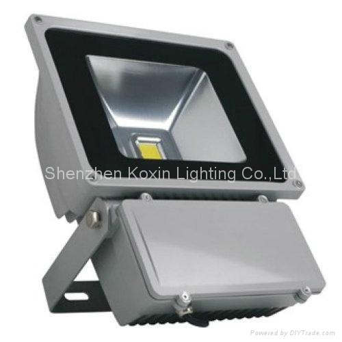 High power 80W cree xpe led flood light/projector 2