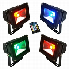 10W RGB led floodlight l