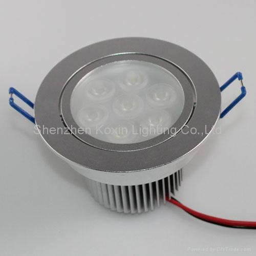 9*3W high power led ceiling light 4