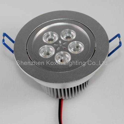 9*3W high power led ceiling light 5