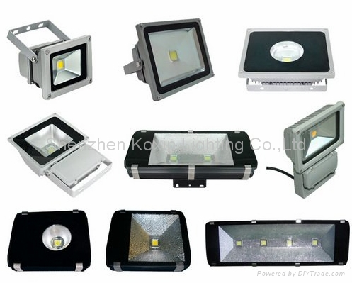 高流明CREE 100瓦泛光灯可以取代350瓦金卤灯 4