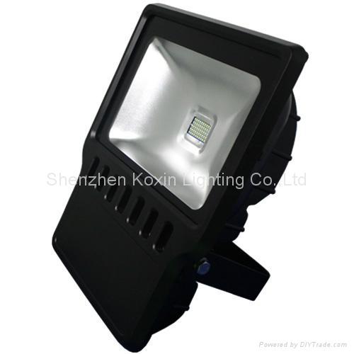 科瑞120瓦防水户外泛光灯CE ROHS认证 驱动过UL认证 1